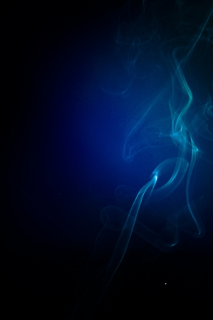 An image of smoke on black background Stock Photo - 18616117
