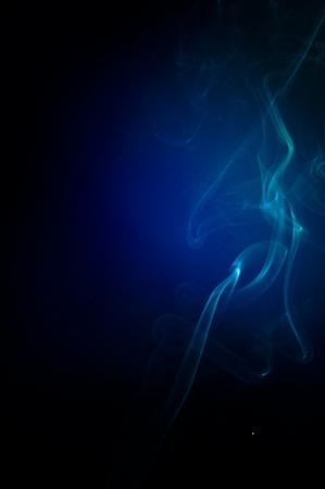 An image of smoke on black background Stock Photo - 18616117