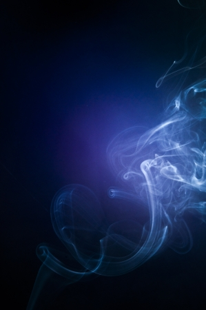 An image of smoke on black background Stock Photo - 18616087