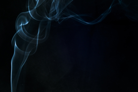 An image of smoke on black background Stock Photo - 18616059