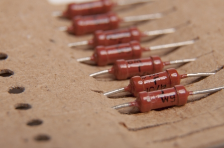 An image of electrical capacitor Stock Photo - 18893747