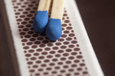 An image of matches macro  photo