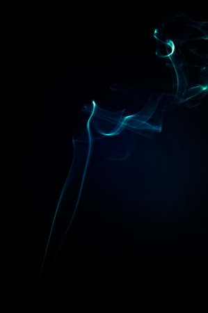 An image of smoke on black background Stock Photo - 18893285
