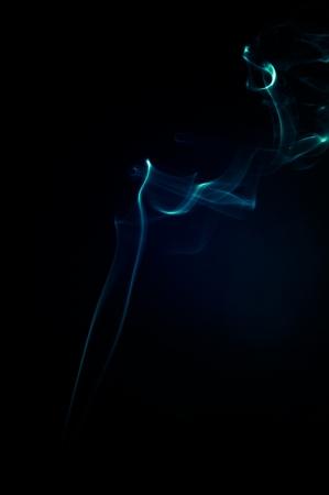 An image of smoke on black background Stock Photo - 18893285