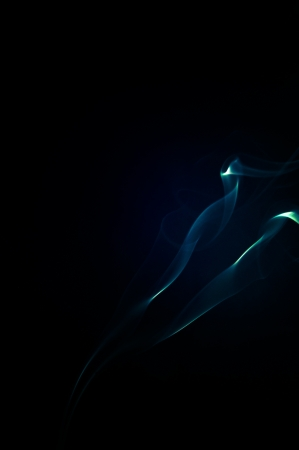 An image of smoke on black background Stock Photo - 19003361