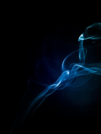 An image of smoke on black background Stock Photo - 19005091
