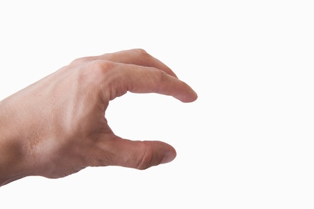 An image of human hand isolated Stock Photo - 19003345