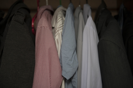 garderobe: An image of mens garderobe