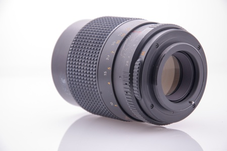 An image of old 35 mm manual lens