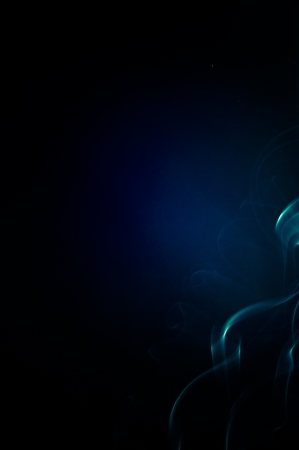 An image of smoke on black background Stock Photo - 19147937