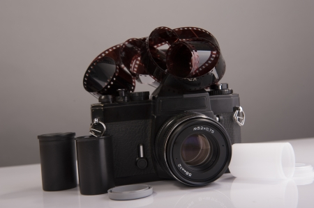 An image of analog camera film photo