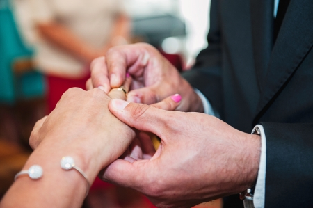 An image of wedding ceremony Stock Photo - 21353782