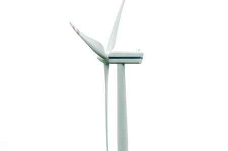an image of wind turbines on a sunny day photo