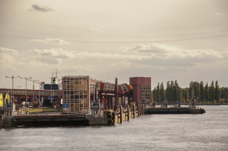 an image of port city photo