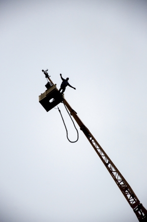 an image of bungee jump