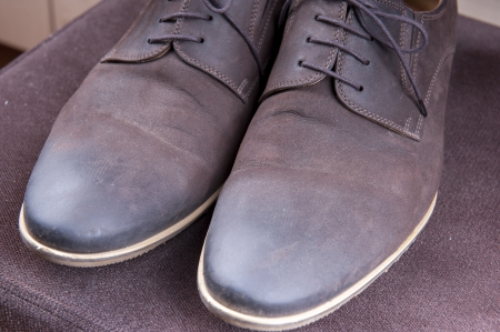 well dressed: an image of elegant formal wear mens shoes