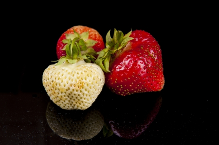 an image of strawberry fruit photo