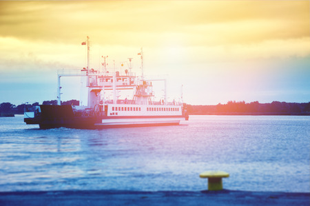 ferry boat: An image of ferry boat Stock Photo