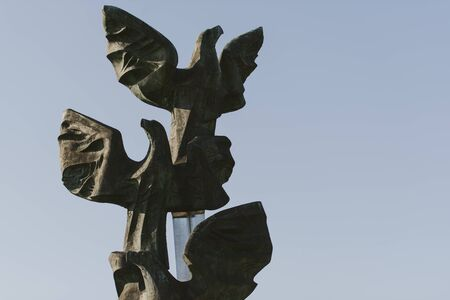 Monument of the Poles deed in the form of Three Eagles