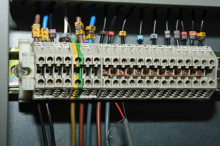 electrical contacts Stock Photo - 3746556