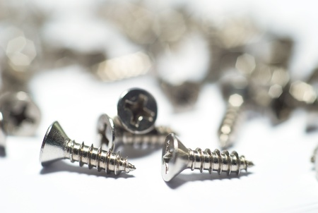 Stainless Steel Screw Stock Photo - 17020201