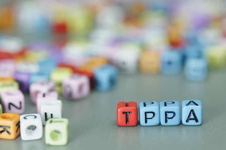brune: TPPA (Trans-Pacific Partnership Agreement) word on dices