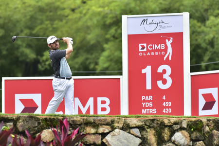 KUALA LUMPUR, MALAYSIA - October 11: Louis Oosthuizen of South Africa pictured during 1st round of CIMB CLASSIC 2018 at TPC KUALA LUMPUR, KUALA LUMPUR, MALAYSIA on October 11, 2018.