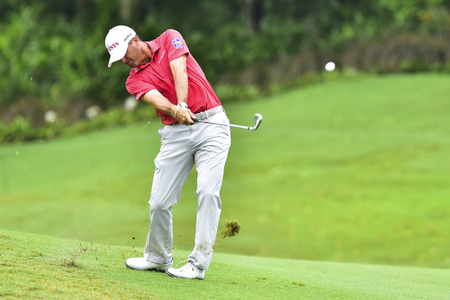 KUALA LUMPUR, MALAYSIA - October 11: Rayn Palmer of USA pictured during 1st round of CIMB CLASSIC 2018 at TPC KUALA LUMPUR, KUALA LUMPUR, MALAYSIA on October 11, 2018.