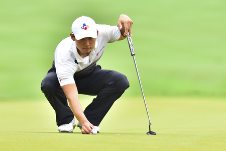 KUALA LUMPUR, MALAYSIA - October 11: Whee Kim of South Korea pictured during 1st round of CIMB CLASSIC 2018 at TPC KUALA LUMPUR, KUALA LUMPUR, MALAYSIA on October 11, 2018. Publikacyjne