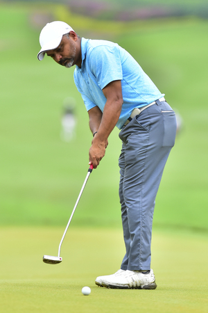 KUALA LUMPUR, MALAYSIA - October 11: Rahil Gangjee of India pictured during 1st round of CIMB CLASSIC 2018 at TPC KUALA LUMPUR, KUALA LUMPUR, MALAYSIA on October 11, 2018.