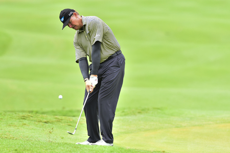 KUALA LUMPUR, MALAYSIA - October 11: Ernie Els of South Africa pictured during 1st round of CIMB CLASSIC 2018 at TPC KUALA LUMPUR, KUALA LUMPUR, MALAYSIA on October 11, 2018.