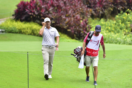 KUALA LUMPUR, MALAYSIA - October 11: Danny Lee of New Zealand pictured during 1st round of CIMB CLASSIC 2018 at TPC KUALA LUMPUR, KUALA LUMPUR, MALAYSIA on October 11, 2018.
