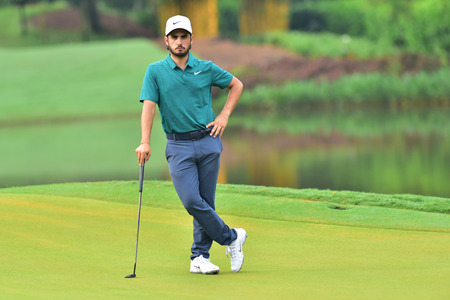 KUALA LUMPUR, MALAYSIA - October 11: Abraham Ancer of Mexico pictured during 1st round of CIMB CLASSIC 2018 at TPC KUALA LUMPUR, KUALA LUMPUR, MALAYSIA on October 11, 2018.