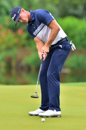 KUALA LUMPUR, MALAYSIA - October 11: Berry Henson of USA pictured during 1st round of CIMB CLASSIC 2018 at TPC KUALA LUMPUR, KUALA LUMPUR, MALAYSIA on October 11, 2018.
