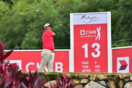 KUALA LUMPUR, MALAYSIA - October 11: Leun Kwang Kim of Malaysia pictured during 1st round of CIMB CLASSIC 2018 at TPC KUALA LUMPUR, KUALA LUMPUR, MALAYSIA on October 11, 2018. Publikacyjne