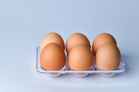 Cause up of Chicken Eggs Zdjęcie Seryjne