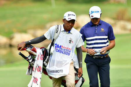SHAH ALAM, MARCH 5 : Kosuke Hamamoto of Thailand, pictured during round 1 of the Bandar Malaysia Open 2020 at Kota Permai Golf & Country Club, Shah Alam, Selangor, Malaysia, on March 5, 2020.