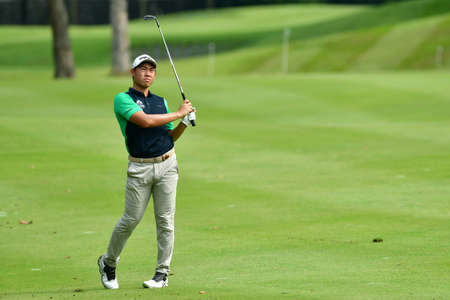 SHAH ALAM, MARCH 5 : Gunn Charoenkul of Thailand, pictured during round 1 of the Bandar Malaysia Open 2020 at Kota Permai Golf & Country Club, Shah Alam, Selangor, Malaysia, on March 5, 2020. Éditoriale