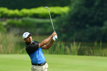 SHAH ALAM, MARCH 5 : Gaganjeet Bhullar of India, pictured during round 1 of the Bandar Malaysia Open 2020 at Kota Permai Golf & Country Club, Shah Alam, Selangor, Malaysia, on March 5, 2020.