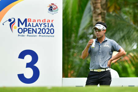 SHAH ALAM, MARCH 5 : Yikeun Chang of Korea, pictured during round 1 of the Bandar Malaysia Open 2020 at Kota Permai Golf & Country Club, Shah Alam, Selangor, Malaysia, on March 5, 2020.