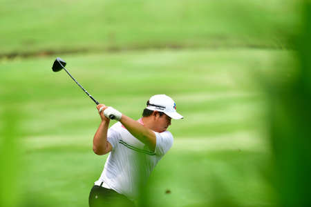 SHAH ALAM, MARCH 5 : Joohyung Kim of Korea, pictured during round 1 of the Bandar Malaysia Open 2020 at Kota Permai Golf & Country Club, Shah Alam, Selangor, Malaysia, on March 5, 2020.