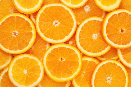 Healthy natural food, background. Orange photo