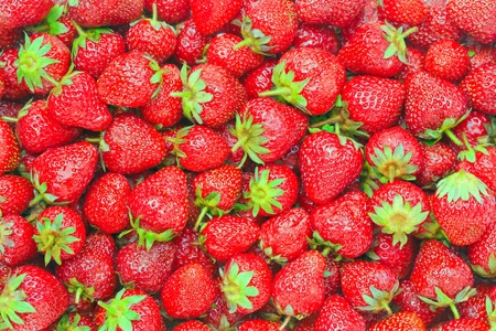 Healthy natural food, background. Strawberry