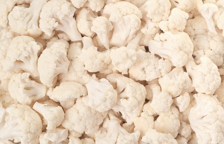Healthy natural food, background. Cauliflower. More background of fruits and vegetables in my portfolio. Stock Photo