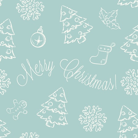 christmas seamless pattern Stock Vector - 11544793