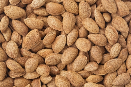 Healthy food background  Almond