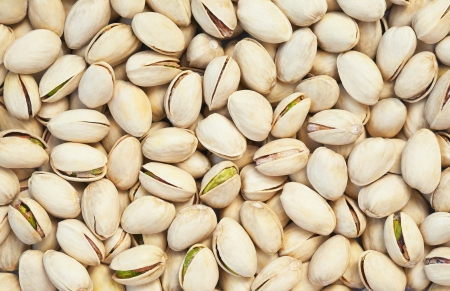 Healthy food, background  Pistachios