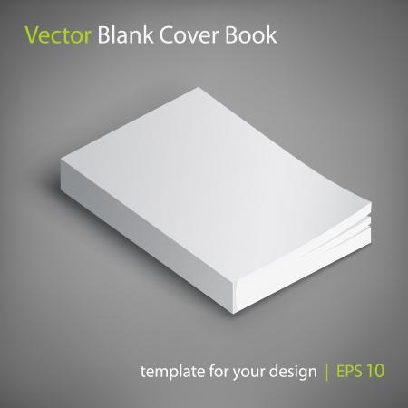 paperback: libro copertina in bianco