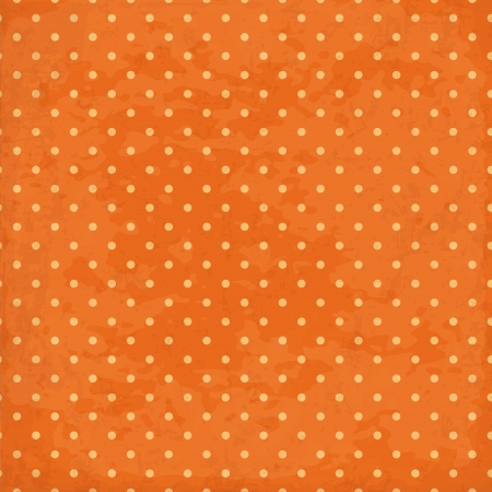 Vintage background  Polka dot