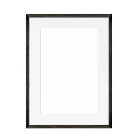 passe: Vector blank of Photo frame
